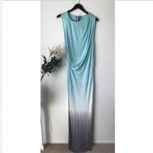 Young Fabulous & Broke Ombre Maxi Dress sz L